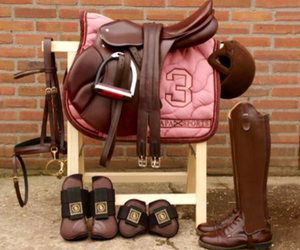 boots, horses, and brown image