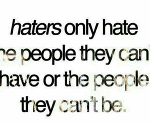 haters and quotes image