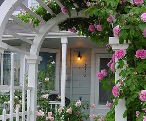 beautiful, door, and nature image