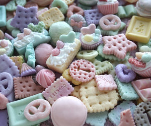 sweet, pastel, and Cookies image