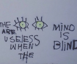 blind, open, and mind image