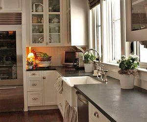 cozy, kitchen, and light image