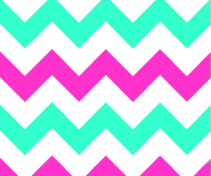 chevron, hot pink, and iphone wallpaper image