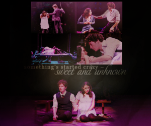 lea michele and spring awakening image