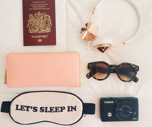 camera, zoella, and passport image
