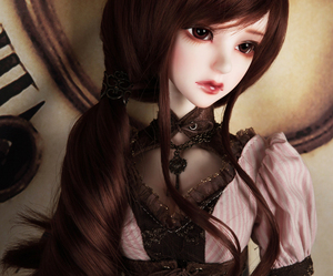 ball jointed doll, pretty, and dollfie image