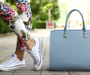 fashion, bag, and converse image