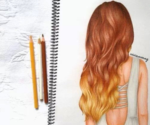 blonde, Chica, and capelli image