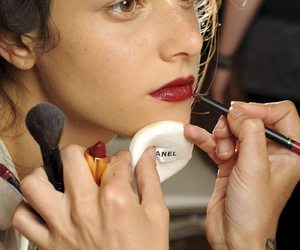 backstage and chanel image