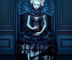 art, baroque, and black image