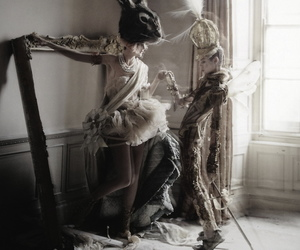 tim walker, photography, and rabbit image