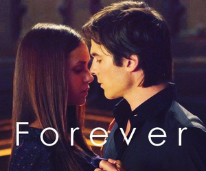 delena, forever, and tvd image