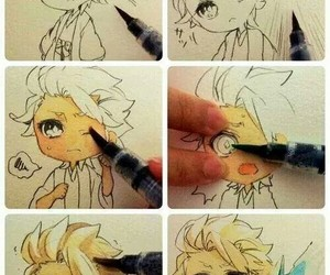 creative, cute, and drawing image