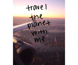 travel, love, and planet image