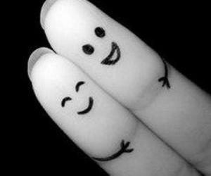 fingers, friends, and smile image