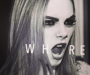 whore, model, and cara delevingne image