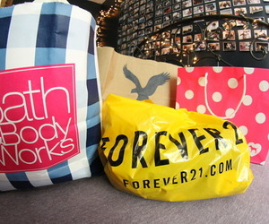shopping, forever 21, and quality image