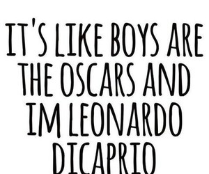 boy, oscar, and leonardo dicaprio image