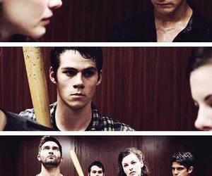 teen wolf, scott, and derek hale image