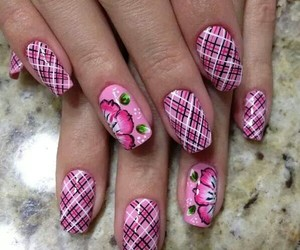 pink and nailart image