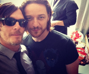 james mcavoy, norman reedus, and walking dead image