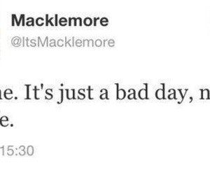 macklemore, quote, and twitter image