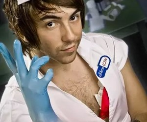 all time low, alex gaskarth, and nurse image