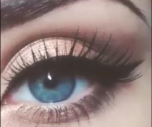 beautyfull, blue eye, and eyes image