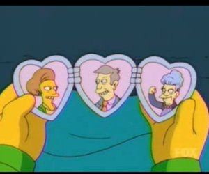 the simpsons and funny image