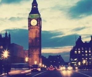 london, night, and beautiful image