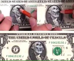 dollar, funny, and art image