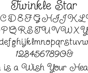 adorable, alphabet, and font image