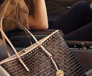 bag, designer, and handbag image