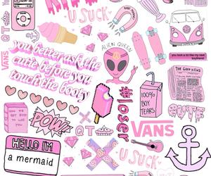 haha, overlay, and pink image