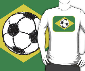 brazil, brazilian, and soccer image