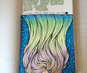wreck this journal and hair image