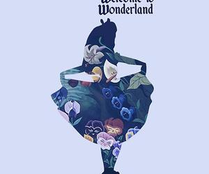 alice, wonderland, and alice in wonderland image