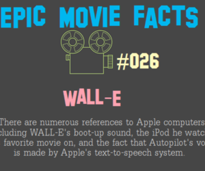 apple, movies, and wall-e image