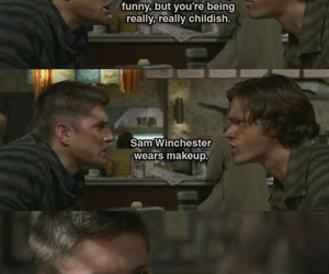dean winchester, sam winchester, and spn image