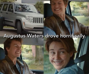 shailene woodly, tfios, and agustus waters image