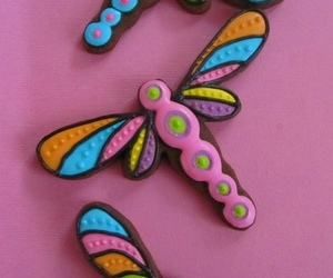 colors, Cookies, and dragonflies image