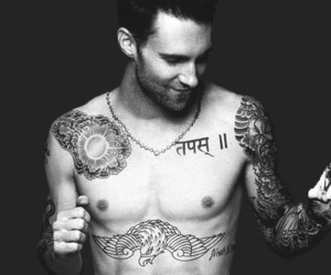 adam levine, sexy, and maroon 5 image