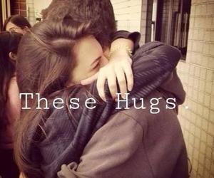 amazing, couple, and hugs image