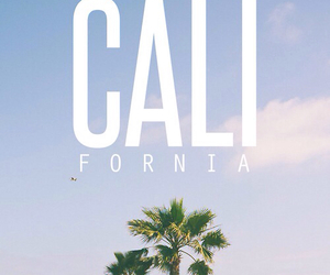 california, summer, and beach image