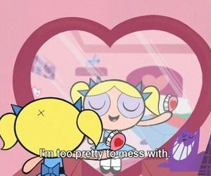 bubbles, pretty, and cartoon image