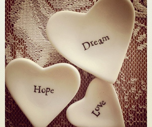 Dream, heart, and hope image