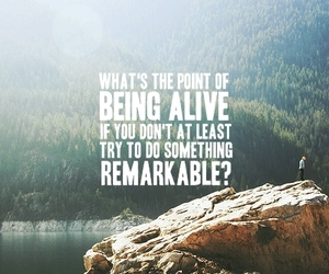 quote, life, and remarkable image