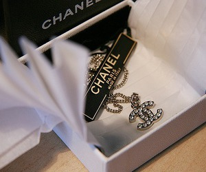 chanel and necklace image