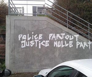 justice and police image
