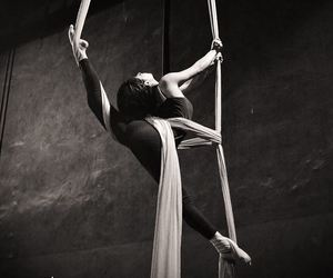 aerial, fly, and dance image